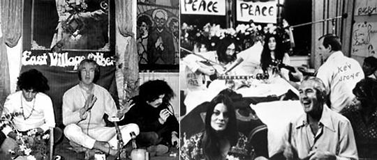 Лири на разных тусовках 60-х