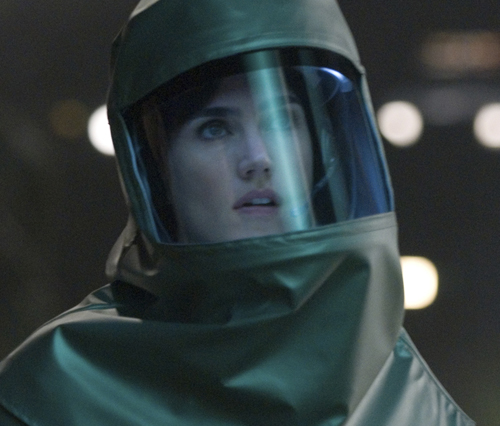Хелен Бенсон чувствует присутствие инопланетянина