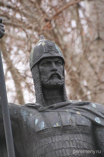Александр Невский, памятник в Городце, где князь умер, возвращаясь из Орды. Фото Олега Давыдова