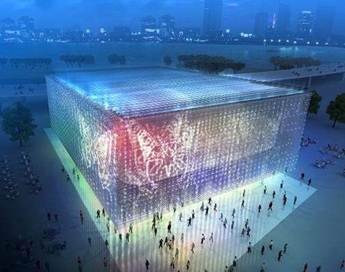 Проект Шанхайского корпоративного павильона