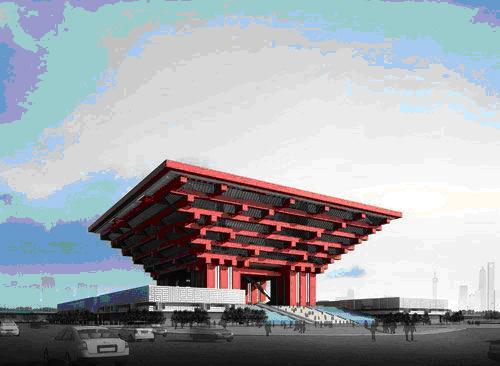 Корона Востока. Китайский национальный павильон ЭКСПО-2010