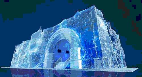 Тема павильона провинции Хэйлунцзян: Лед и снег заставляют нас быть необыкновенными