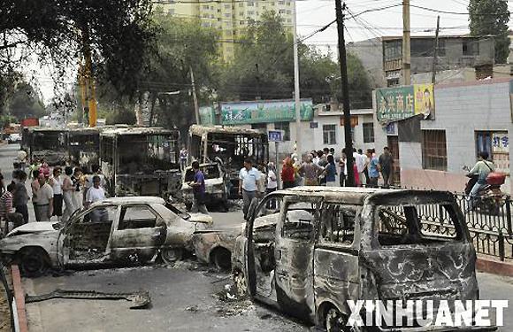 Результаты беспорядков в Урумчи