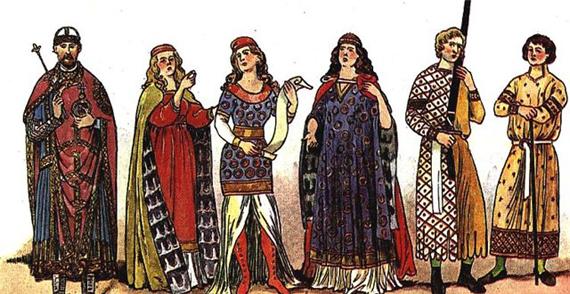 Европейцы 11-12 веков