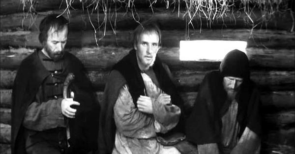 Кадр из филма Андрея Тарковского Андрей Рублев