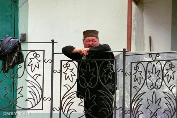 Отец ключник. Алатырский монастырь. Фото Олега Давыдова