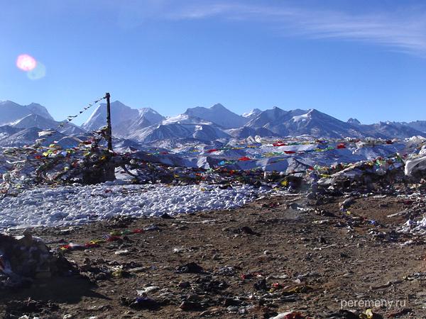 На высоте. Тибет, Фото: Михаил Побирский