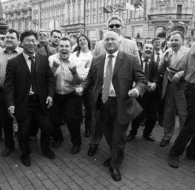 Лужков и его фанаты