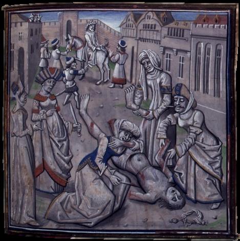 Убийство Андроника I Комнина. Исаак II становится императором