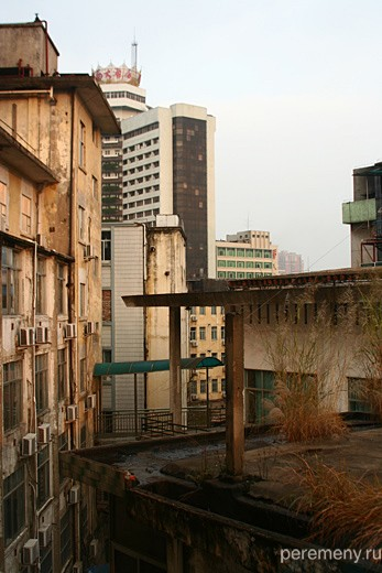 Город Наньнин Гуанси-чжуанского автономного района КНР. Фото Ольги Молодцовой