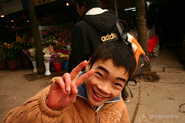 Парень с юга Китая. Наньнин, столица Гуанси-чжуанского автономного района КНР. Фото Глеба Давыдова