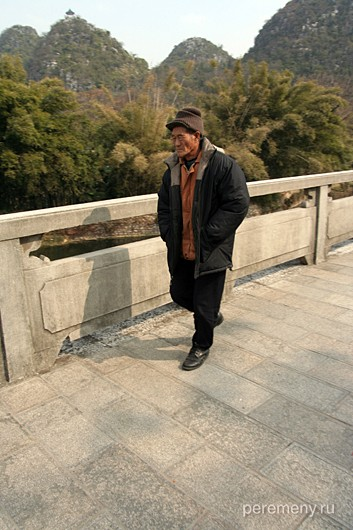 Китай, Гуйлинь (Гуанси-чжуанский автономный район). Фото Глеба Давыдова