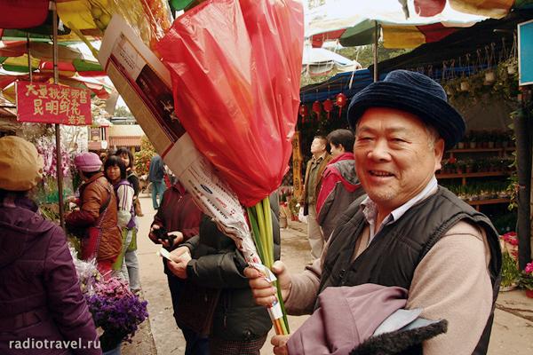 Старый добрый Китай. Птичий рынок в Наньине перед новым китайским годом. Фото Ольги Молодцовой