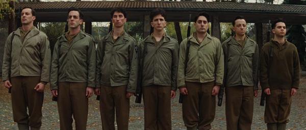 Вот отряд бесславных ублюдков. этакий семисвечник, менора