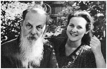Павел Бажов и его дочь