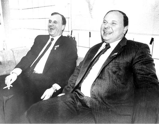 Бурбулис и Гайдар