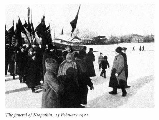 Похороны Кропоткина