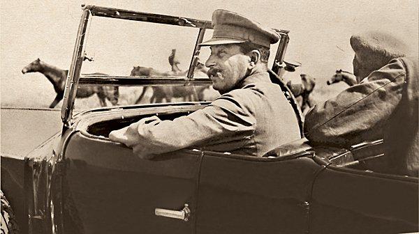 Сталин едет на Кавказ