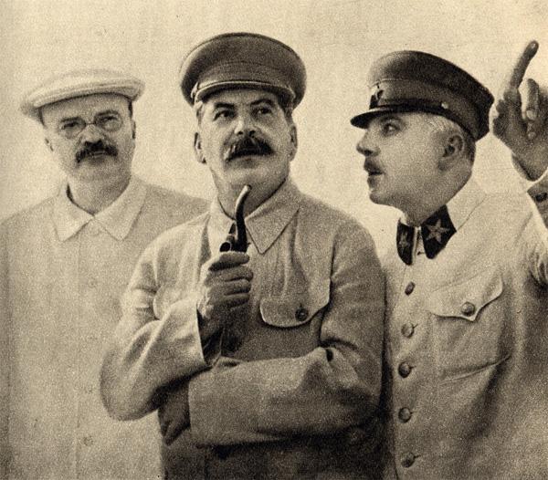 Молотов, Сталин, Ворошилов