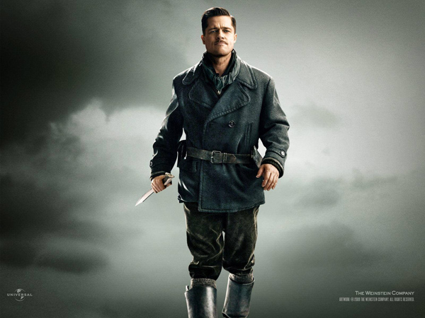 Глава ублюдков Лейтенант Альдо Рейн по прозвищу Апач (Брэд Питт)