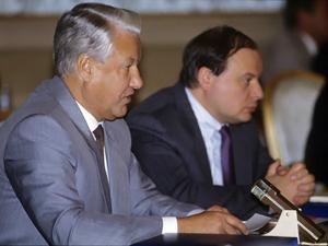 Ельцин и Гайдар
