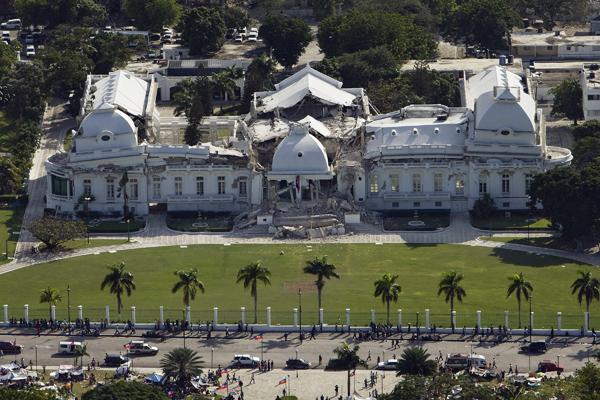 На Гаити разрушено все
