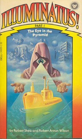 Обложка первой части трилогии Иллюминатус