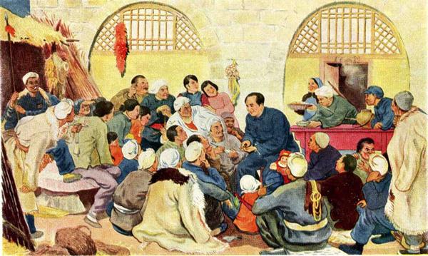 Мао с народом