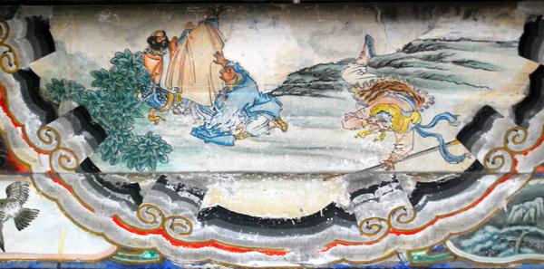 Иллюстрация к роману У Чэн-Эня Путешествие на Запад