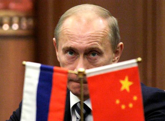 Владимир Путин в Пекине в октября 2009 года