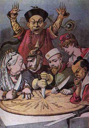 Так выглядел диалог цивилизаций в начале 20-го века