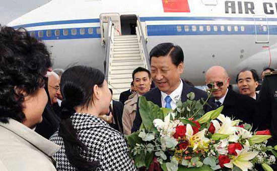 Заместитель Председателя КНР, Член Постоянного Комитета Политбюро ЦК КПК Си Цзиньпин