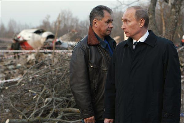 Владимр Путин и Сергей Шойгу. Фото Алексея Никольского