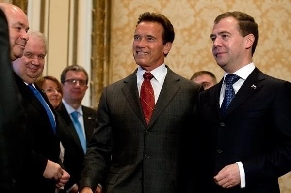 Визит Дмитрия Медведева в США