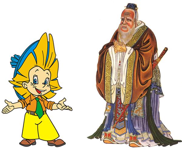 Незнайка и Конфуций