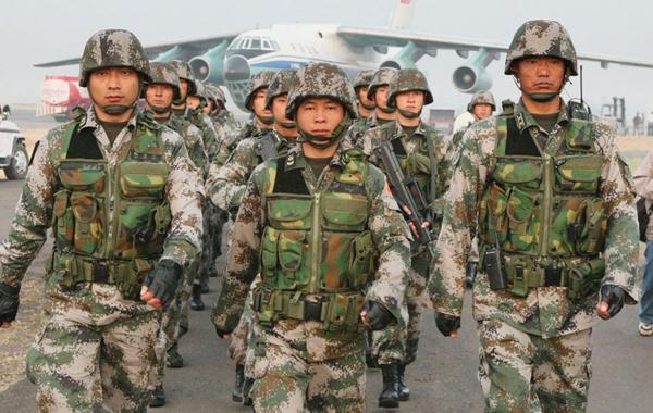 Учения войсковых групп стран ШОС