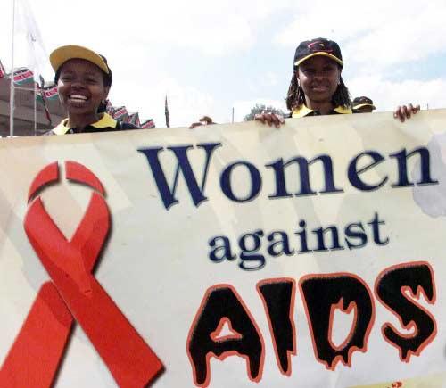 Африканские женщины против СПИДа. Nairobi, Kenya