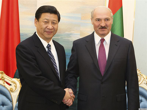 Си Цзиньпин и Александр Лукашенко