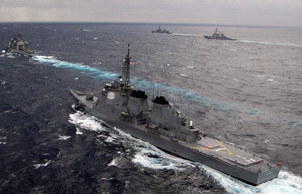 Морские маневры Сил самообороны Японии