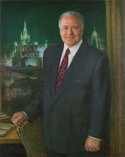 Виктор Черномырдин. Картина маслом