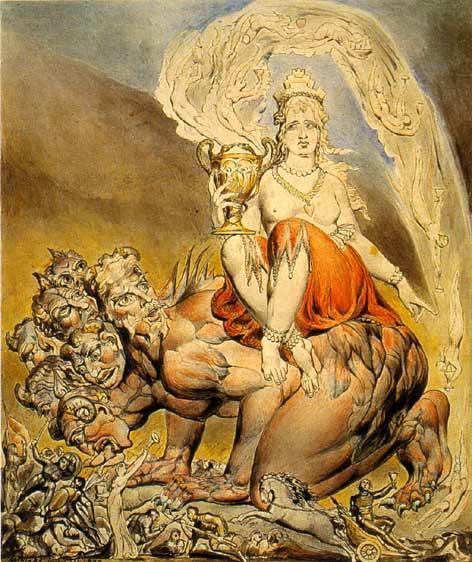 Уильям Блейк. Блудница Вавилонская