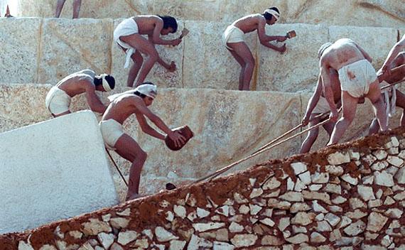 Строители египетских пирамид