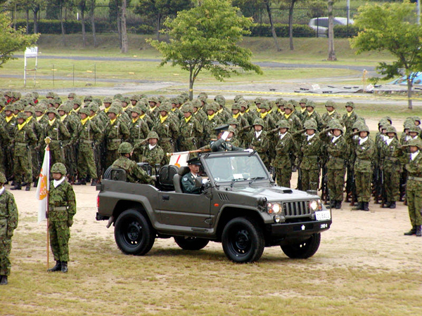 Япония. Учения сил самообороны