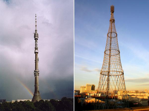 Московские телебашни