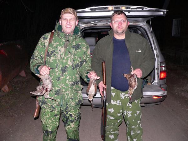 Охотники Навальный и Белых
