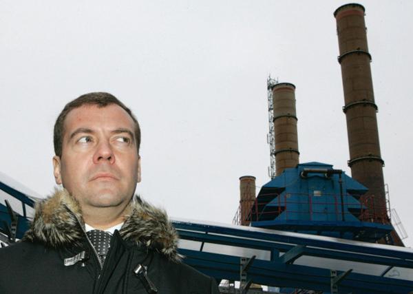 Дмитрий Медведев, 11 февраля 2008 года