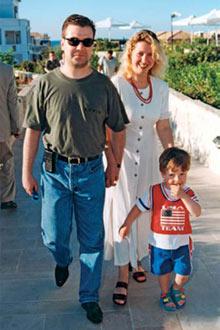 Дмитрий, Светлана и их сын Илья