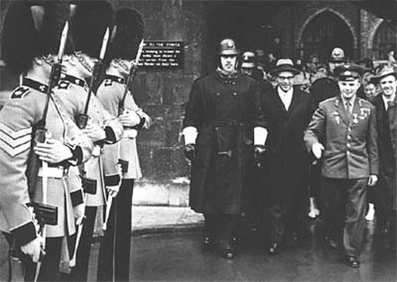 Гагарин в Великобритании