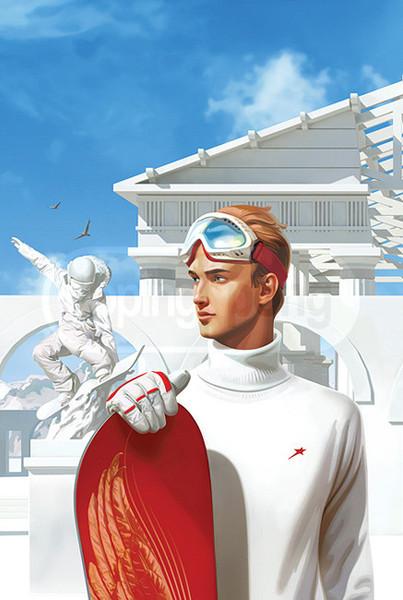 Город-героев 1. Имидж от doping-pong. Заказчик - Горки-город