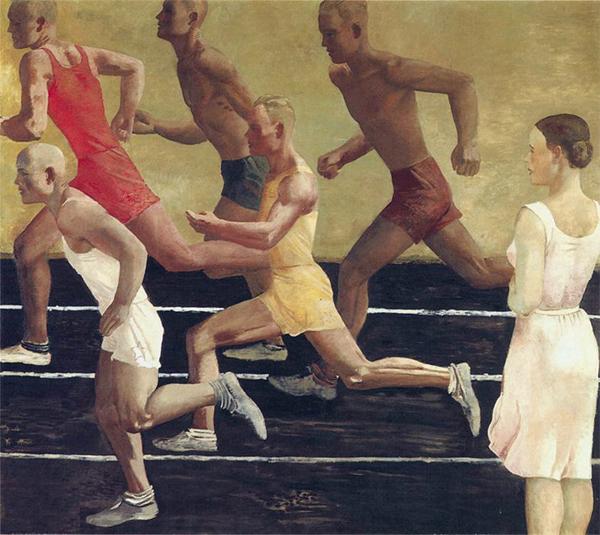 Дейнека «Бегуны», 1934 г.
